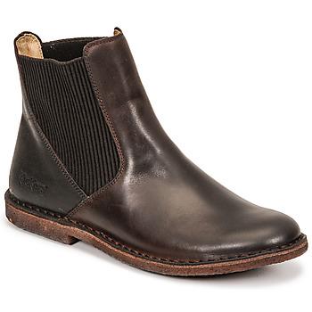 Παπούτσια Γυναίκα Μπότες Kickers TINTO Brown