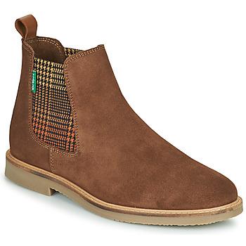 Παπούτσια Γυναίκα Μπότες Kickers TYGA Camel