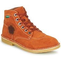 Παπούτσια Γυναίκα Μπότες Kickers ORILEGEND Red
