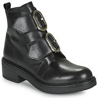 Παπούτσια Γυναίκα Μποτίνια Myma TELLA Black