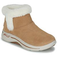 Παπούτσια Γυναίκα Μπότες Skechers GO WALK ARCH FIT Brown