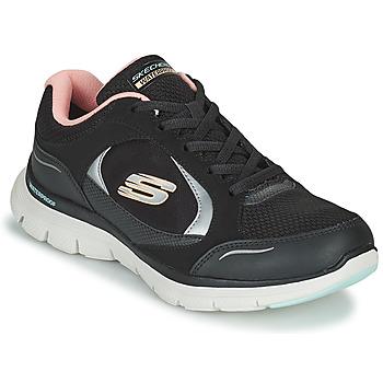 Παπούτσια Γυναίκα Χαμηλά Sneakers Skechers FLEX APPEAL 4.0 Black / Ροζ