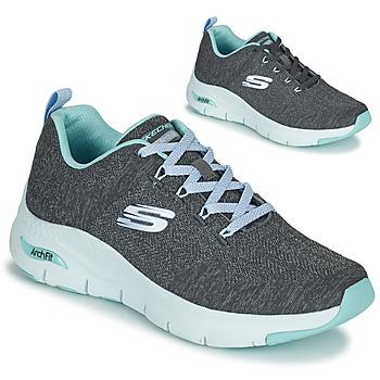 Παπούτσια Γυναίκα Χαμηλά Sneakers Skechers ARCH FIT Grey / Μπλέ