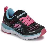 Παπούτσια Κορίτσι Χαμηλά Sneakers Skechers ULTRA GROOVE Black / Ροζ / Μπλέ