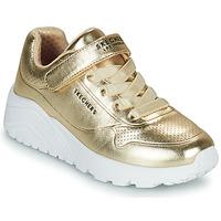 Παπούτσια Κορίτσι Χαμηλά Sneakers Skechers UNO LITE Gold