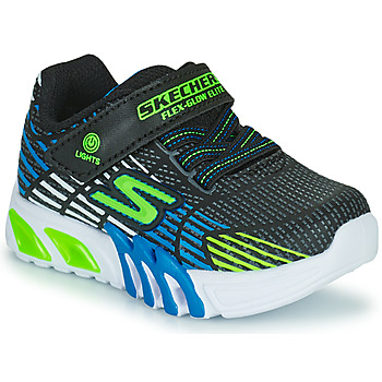 Παπούτσια Αγόρι Χαμηλά Sneakers Skechers FLEX-GLOW ELITE Black / Μπλέ / Led