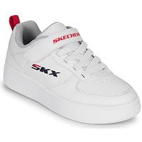 Παπούτσια Παιδί Χαμηλά Sneakers Skechers SPORT COURT 92 Άσπρο