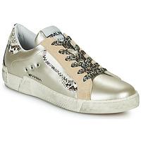 Παπούτσια Γυναίκα Χαμηλά Sneakers Meline NK139 Gold / Python