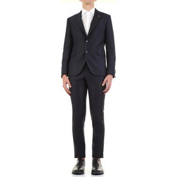 Υφασμάτινα Άνδρας Κοστούμια Manuel Ritz 3030A3328-213032 Blu