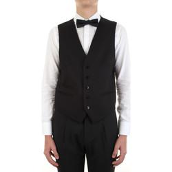 Υφασμάτινα Άνδρας Γιλέκα κοστουμιού Manuel Ritz 3030W9077-213029 Nero