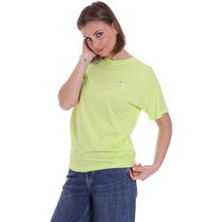 Υφασμάτινα Γυναίκα T-shirt με κοντά μανίκια Fila 687469 Πράσινος