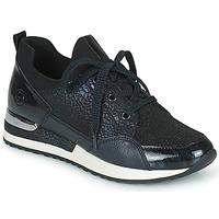 Παπούτσια Γυναίκα Χαμηλά Sneakers Remonte Dorndorf ANITAS Black / Άσπρο