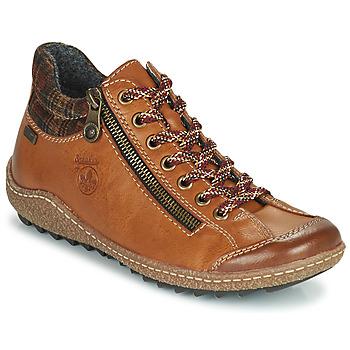 Παπούτσια Γυναίκα Μπότες Rieker KAMELO Brown