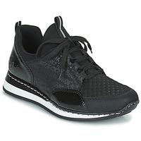 Παπούτσια Γυναίκα Χαμηλά Sneakers Rieker REGARDA Black