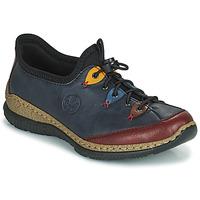 Παπούτσια Γυναίκα Derby Rieker ENCORRA Μπλέ / Red / Yellow