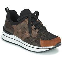 Παπούτσια Γυναίκα Χαμηλά Sneakers Rieker TEMPORA Brown