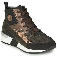 Παπούτσια Γυναίκα Ψηλά Sneakers Rieker MANKA Black / Brown