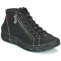 Παπούτσια Γυναίκα Μπότες Rieker MEMOIRA Black