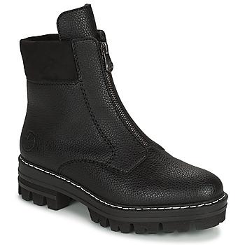 Παπούτσια Γυναίκα Μπότες Rieker QUAMIN Black