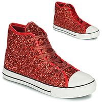 Παπούτσια Κορίτσι Ψηλά Sneakers Citrouille et Compagnie OUTIL Red