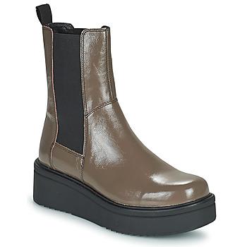 Παπούτσια Γυναίκα Μπότες Vagabond Shoemakers TARA Brown /  clair