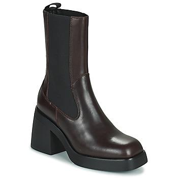 Παπούτσια Γυναίκα Μποτίνια Vagabond Shoemakers BROOKE Brown