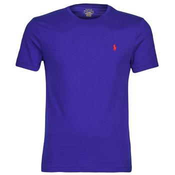 Υφασμάτινα Άνδρας T-shirt με κοντά μανίκια Polo Ralph Lauren SOPELA Μπλέ