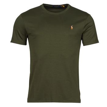 Υφασμάτινα Άνδρας T-shirt με κοντά μανίκια Polo Ralph Lauren TEKAMO Kaki
