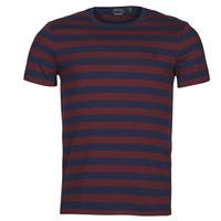 Υφασμάτινα Άνδρας T-shirt με κοντά μανίκια Polo Ralph Lauren POLINE Marine / Bordeaux