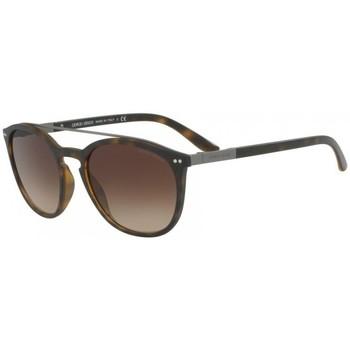 Ρολόγια & Kοσμήματα Γυναίκα óculos de sol Armani  Brown