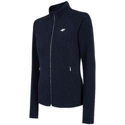 Υφασμάτινα Γυναίκα Σπορ Ζακέτες 4F Women's Sweatshirt Bleu marine