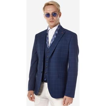 Υφασμάτινα Άνδρας Σακάκια κοστουμιού Sogo ΑΝΔΡΙΚΟ ΣΑΚΑΚΙ Μπλε