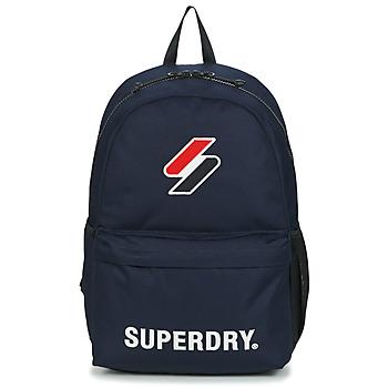 Τσάντες Σακίδια πλάτης Superdry SUPERDRY CODE MONTANA Μπλέ