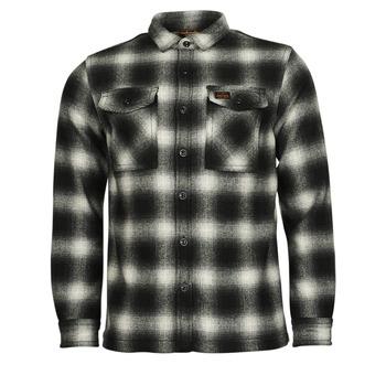 Υφασμάτινα Άνδρας Μπουφάν Superdry Wool Miller Overshirt Black