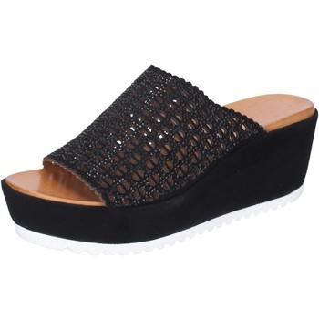 Παπούτσια Γυναίκα Τσόκαρα Femme Plus Σανδάλια BJ890 Μαύρος