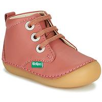 Παπούτσια Κορίτσι Μπότες Kickers SONIZA Ροζ