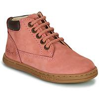 Παπούτσια Κορίτσι Μπότες Kickers TACKLAND Ροζ