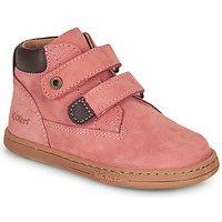Παπούτσια Κορίτσι Μπότες Kickers TACKEASY Ροζ