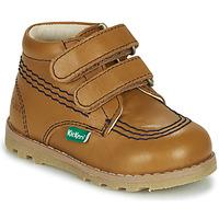 Παπούτσια Παιδί Μπότες Kickers NONOMATIC Camel