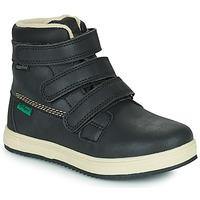 Παπούτσια Παιδί Μπότες Kickers YEPOKRO WPF Black