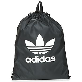 Τσάντες Σακίδια πλάτης adidas Originals GYMSACK TREFOIL Black