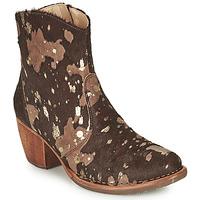 Παπούτσια Γυναίκα Μποτίνια Neosens MUNSON Brown / Gold