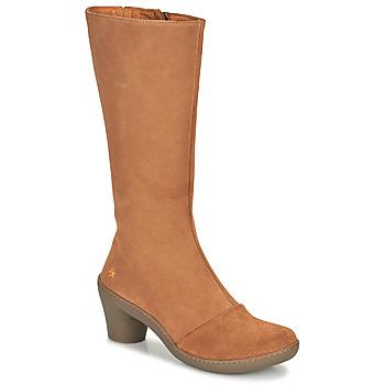 Παπούτσια Γυναίκα Μπότες για την πόλη Art ALFAMA Brown