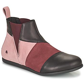 Παπούτσια Γυναίκα Μπότες Art LARISSA Violet / Black
