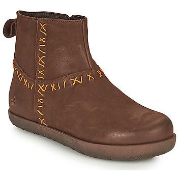 Παπούτσια Γυναίκα Μπότες Art RHODES Brown
