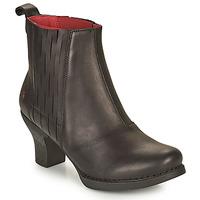 Παπούτσια Γυναίκα Μποτίνια Art HARLEM Black