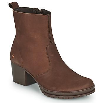 Παπούτσια Γυναίκα Μποτίνια Art CAMDEN Brown