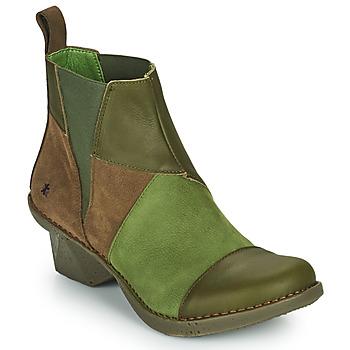 Παπούτσια Γυναίκα Μποτίνια Art OTEIZA Kaki