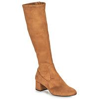 Παπούτσια Γυναίκα Μπότες για την πόλη Unisa LARTI Camel