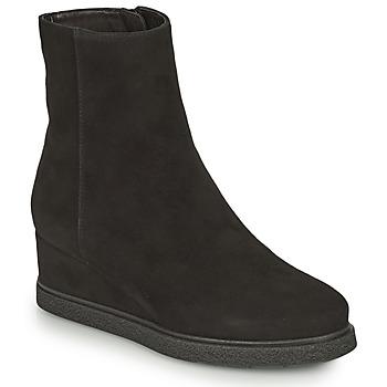 Παπούτσια Γυναίκα Μποτίνια Unisa JUSTEL Black